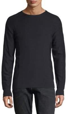 Langford Port Melange Wool Sweater