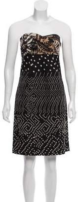Diane von Furstenberg Vintage Elili Strapless Dress w/ Tags