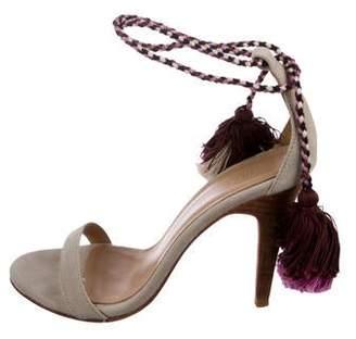 Ulla Johnson Tassel Ankle Strap Sandals