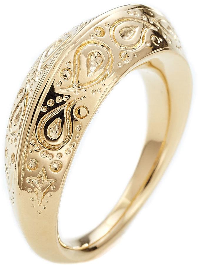 Aurelie Bidermann Apache Embossed Ring