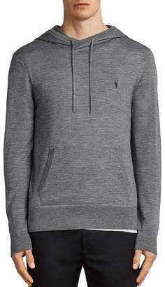 AllSaints Mode Merino Hooded Sweatshirt