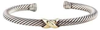 David Yurman Two-Tone X Bracelet silver Two-Tone X Bracelet