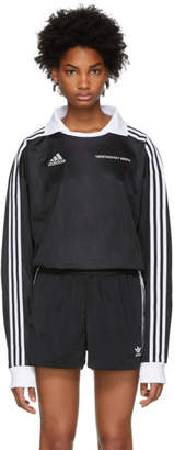 Gosha Rubchinskiy Black adidas Originals Edition Football Jersey Polo
