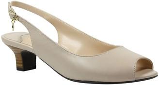 J. Renee Low Heel Slingbacks - Aldene