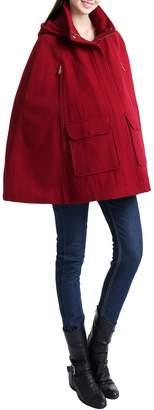 Kimi and Kai 'Robin' Wool Blend Maternity Cape