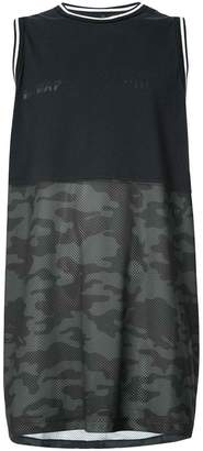 Unravel Project camouflage print tank