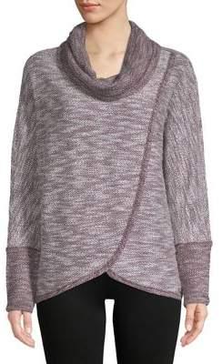 Calvin Klein Asymmetrical-Hem Sweater