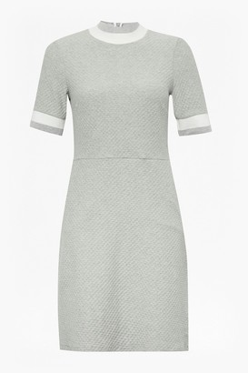 French Connection Savos Sudan High Neck Dress