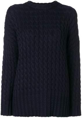 Victoria Beckham Victoria drop shoulder sweater