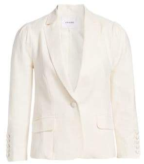 Frame Clean Pleated Blazer