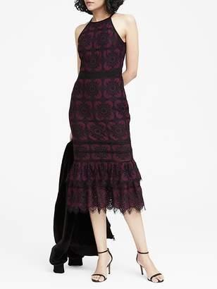 Banana Republic Lace Midi Dress