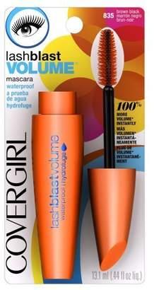 Cover Girl LashBlast Waterproof Mascara,Black 835, 0.44 - Ounce Packages (Pack of 3) by