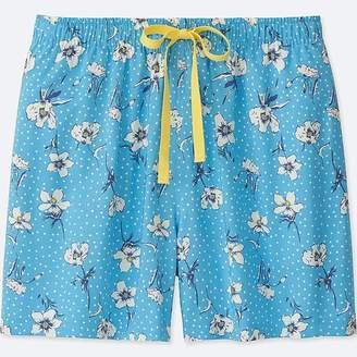 Uniqlo Women's Dot Flower Relaco Shorts