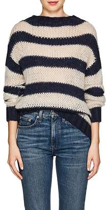Prada Women's Striped Mohair-Blend Sweater