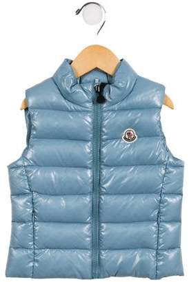 Moncler Girls' Ghany Down Vest w/ Tags