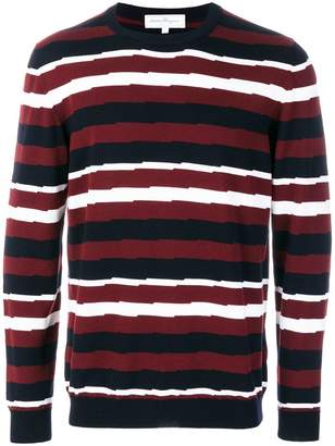 Salvatore Ferragamo striped jumper