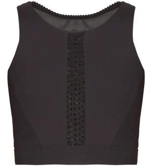 Track & Bliss - Protagonist Cropped Top - Womens - Black