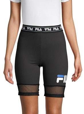 Fila Jacquard Logo Tight Shorts
