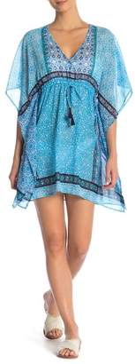 Tommy Bahama Geo Print Tunic Cover Up