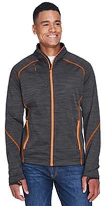 Ash City - North End Men's Flux Melange Bonded Fleece Jacket