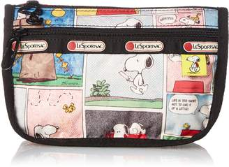 Le Sport Sac Peanuts X Travel Case Cosmetic Bag