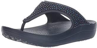 Crocs Women's Sloane Embellished Flip Flop