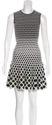 Alexander McQueen Sleeveless Mini Dress