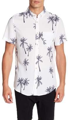 Sovereign Code Kelso Patterned Short Sleeve Regular Fit Shirt