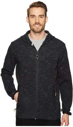 Quiksilver Waterman Tech Fleece Zip-Up Hoodie Men's Clothing