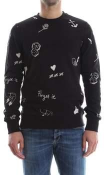 Jack Jones Sweatshirt 12136172 HOME SWEATER Herren BLACK