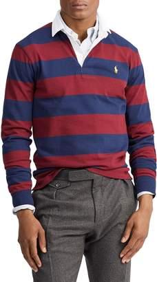 Polo Ralph Lauren Striped Long-Sleeve Cotton Rugby Shirt