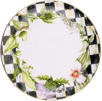 Mackenzie Childs Thistle and Bee Garland Dinner Plate (26cm)