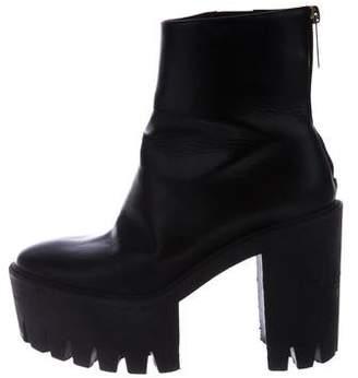 Stella McCartney Vegan Leather Platform Booties