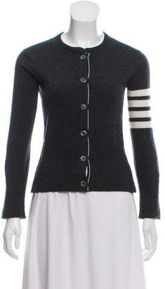 Thom Browne Cashmere Striped Cardigan