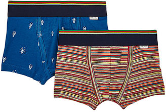 Paul Smith Stretch-Cotton Jersey Boxer Brief Set $74 thestylecure.com