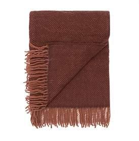 Waverley 100% Merino Throw Brown