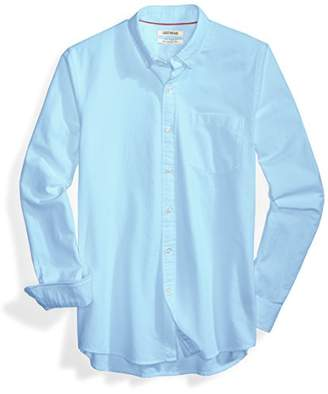 Goodthreads Men's Slim-Fit Long-Sleeve Solid Oxford Shirt with Pocket