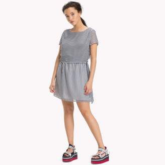 Tommy Hilfiger Stripe Chiffon Couplet Dress