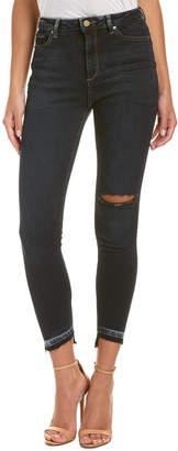 DL1961 Premium Denim Chrissy Grizzly Trimtone Skinny Leg