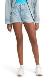 Levi's 501® High Waist Cutoff Denim Shorts