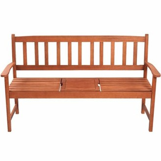 Charlton Home Renna Wooden Bench Charlton Home