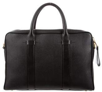Tom Ford Buckley Trapeze Leather Briefcase