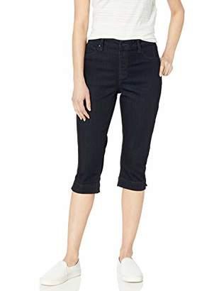 Laurie Felt Women's Silky Denim Pedal Pusher Pull-On Jeans