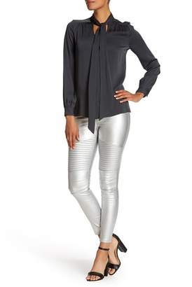 Moto OOBERSWANK Coated High Rise Leggings