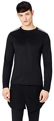 FIND Men's Sports Top with Contrast Colour Shoulder Detail