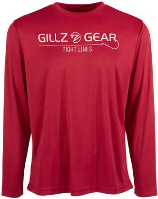 Gillz Men Tight Lines Long-Sleeve Graphic T-Shirt