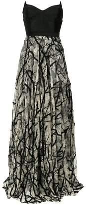 Tufi Duek bandeau gown