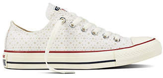 Converse Chuck Taylor All Star Perforated Star Low Top Sneakers