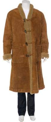 Giorgio Armani Long Shearling Coat