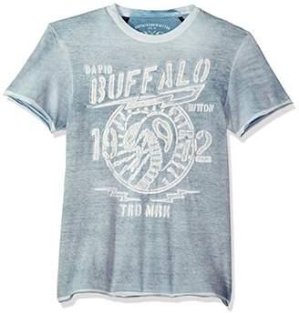Buffalo David Bitton Men's Turing Short Sleeve Crew Neck T-Shirt